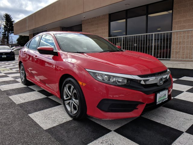 Photo 2016 Honda Civic Sedan LX for sale in Martinsburg WV from Fast Lane Preowned Car Sales