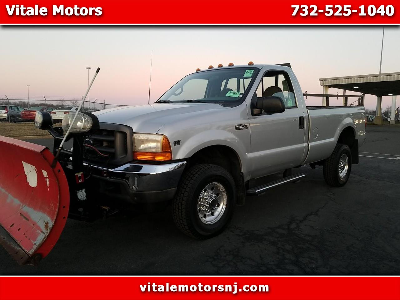 Photo 2002 Ford F-350 SD REG. CAB LONG BED 4X4 WITH SNOW PLOW 37K MILES