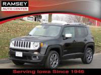 Used 2015 Jeep Renegade 4WD Limited For Sale near Des Moines, IA