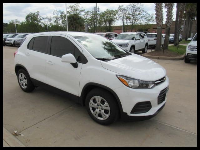Photo Used 2017 Chevrolet Trax FWD LS in Houston, TX