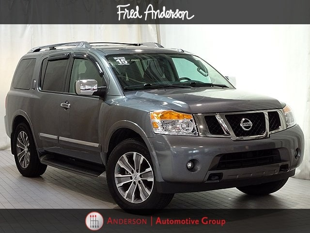 Photo Pre-Owned 2015 Nissan Armada SL SUV For Sale in Raleigh NC