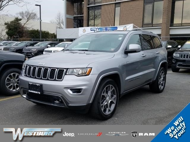 Photo Used 2018 Jeep Grand Cherokee Sterling Edition Sterling Edition 4x4 Ltd Avail Long Island, NY