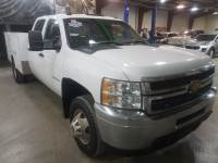 Used 2011 Chevrolet Silverado 3500HD WT 6.6 Service Body Crew 4x4