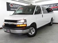 2017 Chevrolet Express Passenger LT 3500 EXTENDED 15 PASSENGER VAN FLEX FUEL REAR AIR CONDITIONIN