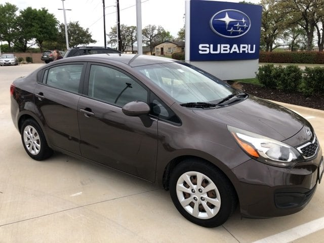 Photo Used 2012 Kia Rio EX For Sale Grapevine, TX