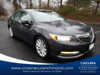 Certified 2016 Acura RLX Sport Hybrid Base w/Advance Package (DCT) in Richmond VA