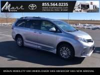 Certified Pre-Owned 2018 Toyota Sienna XLE BraunAbility Ramp Van w/Heated Leather Seats, Minivan/Van in Plover, WI