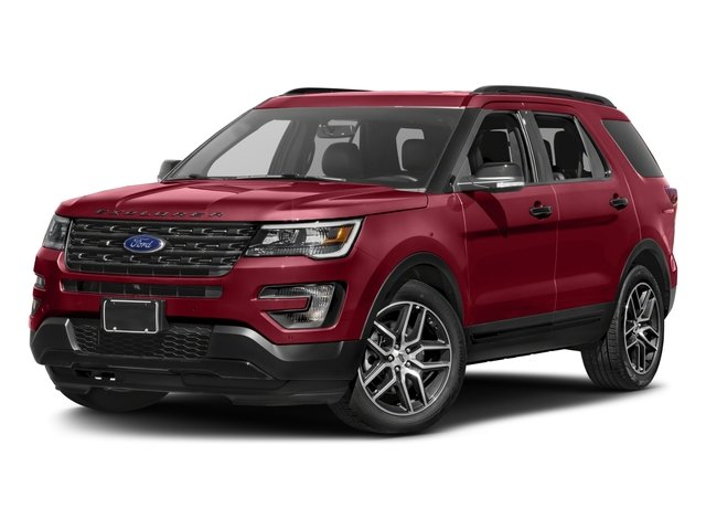 Photo 2017 Ford Explorer Sport - Ford dealer in Amarillo TX  Used Ford dealership serving Dumas Lubbock Plainview Pampa TX