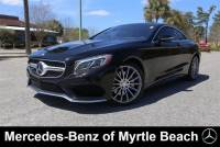 Certified Used 2016 Mercedes-Benz S-Class S 550 4MATIC Coupe For Sale in Myrtle Beach, South Carolina