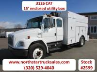 Used 2003 Freightliner FL70 3126 CAT Service Utility Truck