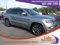 Used 2018 Jeep Grand Cherokee Overland 4x4 Overland 4x4 For Sale in Seneca, SC