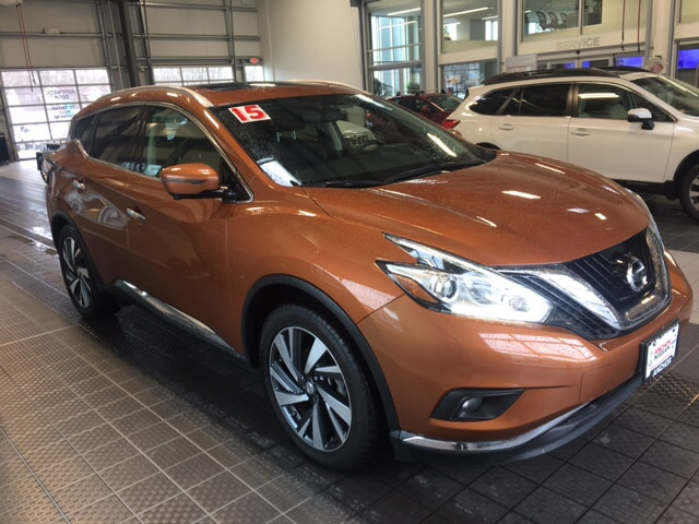 Photo 2015 Nissan Murano NISSAN CERTIFIED SUNROOF LEATHER NAVIGATION SUV