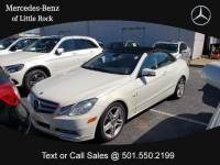 2012 Mercedes-Benz E-Class 2dr Cabriolet E 350 RWD in Little Rock