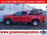 Certified Used 2016 Chevrolet Colorado Work Truck Truck in Burton, OH