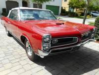 1966 Pontiac GTO -CONVERTIBLE-389 TRI-POWER-MANUAL-SOUTHERN REAL 242 MUSCLE CAR CLASSIC-