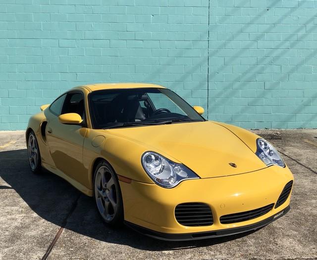 Photo 2003 Porsche 911 Carrera Twin Turbo 996 Speed Yellow504452-5696 6 Speed Manual