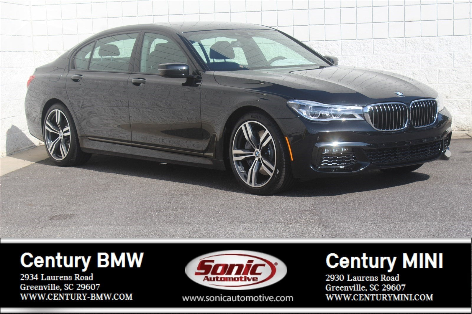 Photo Pre-Owned 2019 BMW 7 Series 750i Sedan in Greenville, SC