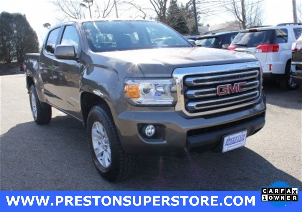 Photo Certified Used 2015 GMC Canyon SLE1 Truck in Burton, OH