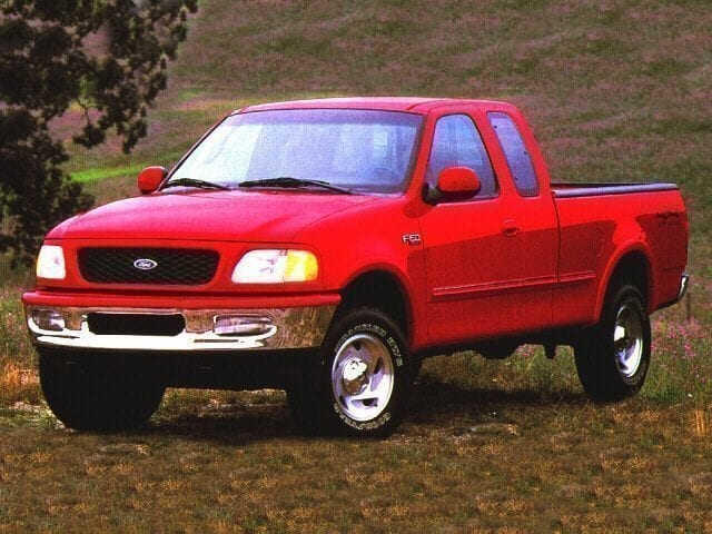 Photo 1997 Ford F-150 Supercab 157 4WD XLT Truck Extended Cab