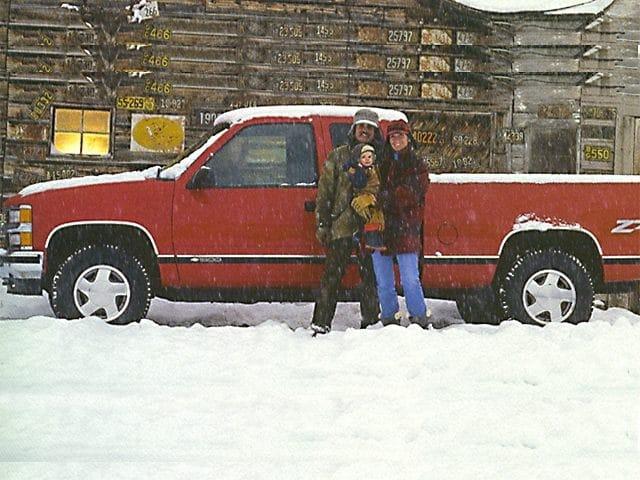 Photo Used 1998 Chevrolet K1500 Silverado Fleetside Truck Extended Cab For Sale Toledo, OH