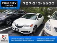 Used 2013 Acura ILX ILX 5-Speed Automatic with Premium Package Sedan in Chesapeake, VA