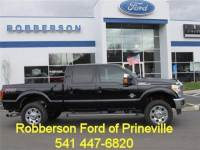 Used 2016 Ford F-350 Lariat 4x4 Crew Cab 6.75 ft. box 156 in. WB SRW Sedan For Sale Bend, OR