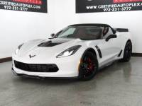2016 Chevrolet Corvette Z06 CONVERTIBLE SUPERCHARGED 3LZ PKG BODY GROUND EFFECTS 7 SPEED MANUAL 20