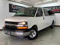2017 Chevrolet Express LT 3500 EXTENDED 15 PASSENGER VAN FLEX FUEL REAR AIR CONDITIONIN