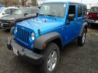Used 2016 Jeep Wrangler JK Unlimited Sport 4X4 SUV in Toledo