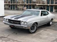 1970 Chevrolet Chevelle SS 502-BIG BLOCK WITH 4 SPEED-CORTEZ SILVER-