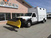 2008 Ford F450 Utility Plow Truck