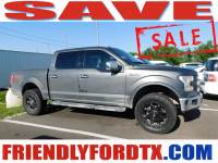 Used 2017 Ford F-150 Lariat Truck V8 FFV for Sale in Crosby near Houston