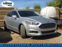 Used 2016 Ford Fusion SE Sedan I-4 cyl For Sale in Surprise Arizona