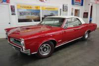 1966 Pontiac GTO -CONVERTIBLE-389 TRI POWER- REAL 242 VIN -5 SPEED CLASSIC MUSCLE -SEE VIDEO