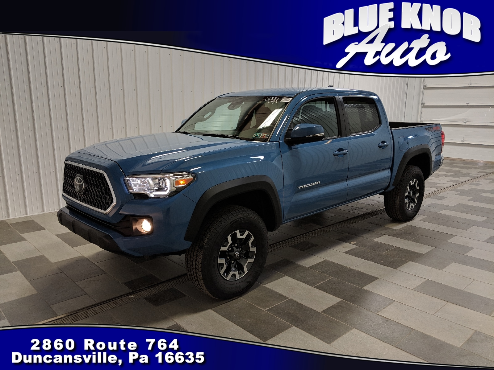 Photo 2019 Toyota Tacoma TRD Sport V6 Truck Double Cab in Duncansville  Serving Altoona, Ebensburg, Huntingdon, and Hollidaysburg PA