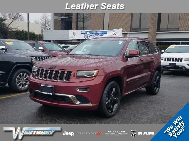 Photo Certified Used 2016 Jeep Grand Cherokee High Altitude 4WD High Altitude Long Island, NY