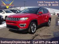 2019 Jeep Compass Limited 4x4 near Detroit