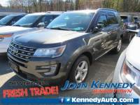 Certified 2017 Ford Explorer XLT SUV I4 EcoBoost in Jenkintown