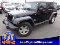 2011 Jeep Wrangler Unlimited Sport SUV 4WD