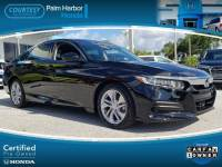 Certified 2018 Honda Accord LX Sedan in Tampa FL