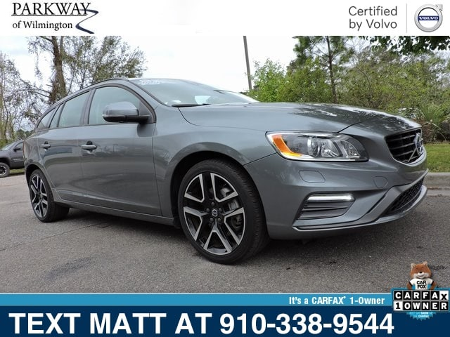 Photo Certified Used 2018 Volvo V60 T5 Dynamic For Sale  Wilmington NC