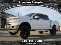 2015 Ford F-150 Lariat SuperCrew Lifted 4x4 FX4 35's on 20's Loade