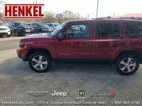 PRE-OWNED 2016 JEEP PATRIOT HIGH ALTITUDE 4X4 FOUR WHEEL DRIVE SUV