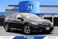 Certified Used 2016 Honda Civic LX For Sale in Stockton, CA