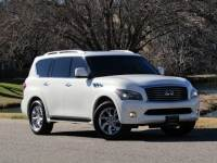 2013 INFINITI QX56 4WD, NAVIGATION, ALL AROUND CAMERAS, HEATED SEATS, DUAL REAR DVDS, CAPTAIN CHAIRS
