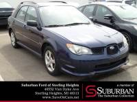 2006 Subaru Impreza 2.5i Wagon SOHC