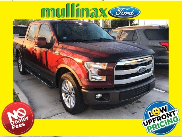 Photo Used 2016 Ford F-150 W Center Console, 20 Wheels, Twin Panel Moonroof Truck SuperCrew Cab V-8 cyl in Kissimmee, FL