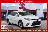 Used 2014 Toyota Corolla LE Sedan For Sale in Colorado Springs, CO