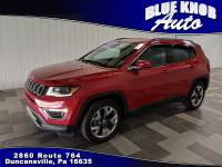 2018 Jeep Compass Limited FWD SUV in Duncansville | Serving Altoona, Ebensburg, Huntingdon, and Hollidaysburg PA