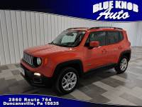 2016 Jeep Renegade Latitude 4x4 SUV in Duncansville | Serving Altoona, Ebensburg, Huntingdon, and Hollidaysburg PA
